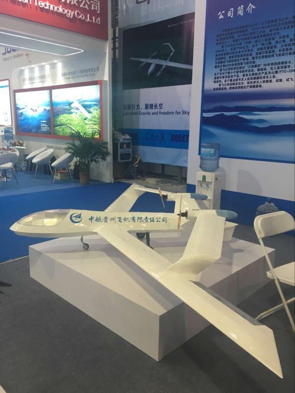 La maquette volante préentée par AVIC Guizhou Aircraft