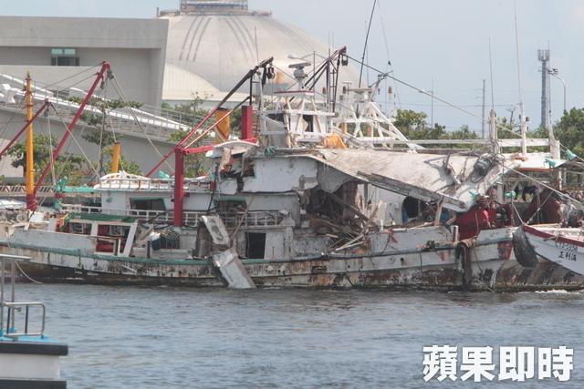 Le bateau de pêche touché par le missile a été remorqué au port, la détonation de la tête de 225kg d'explosive ne semble pas avoir eu lieu.